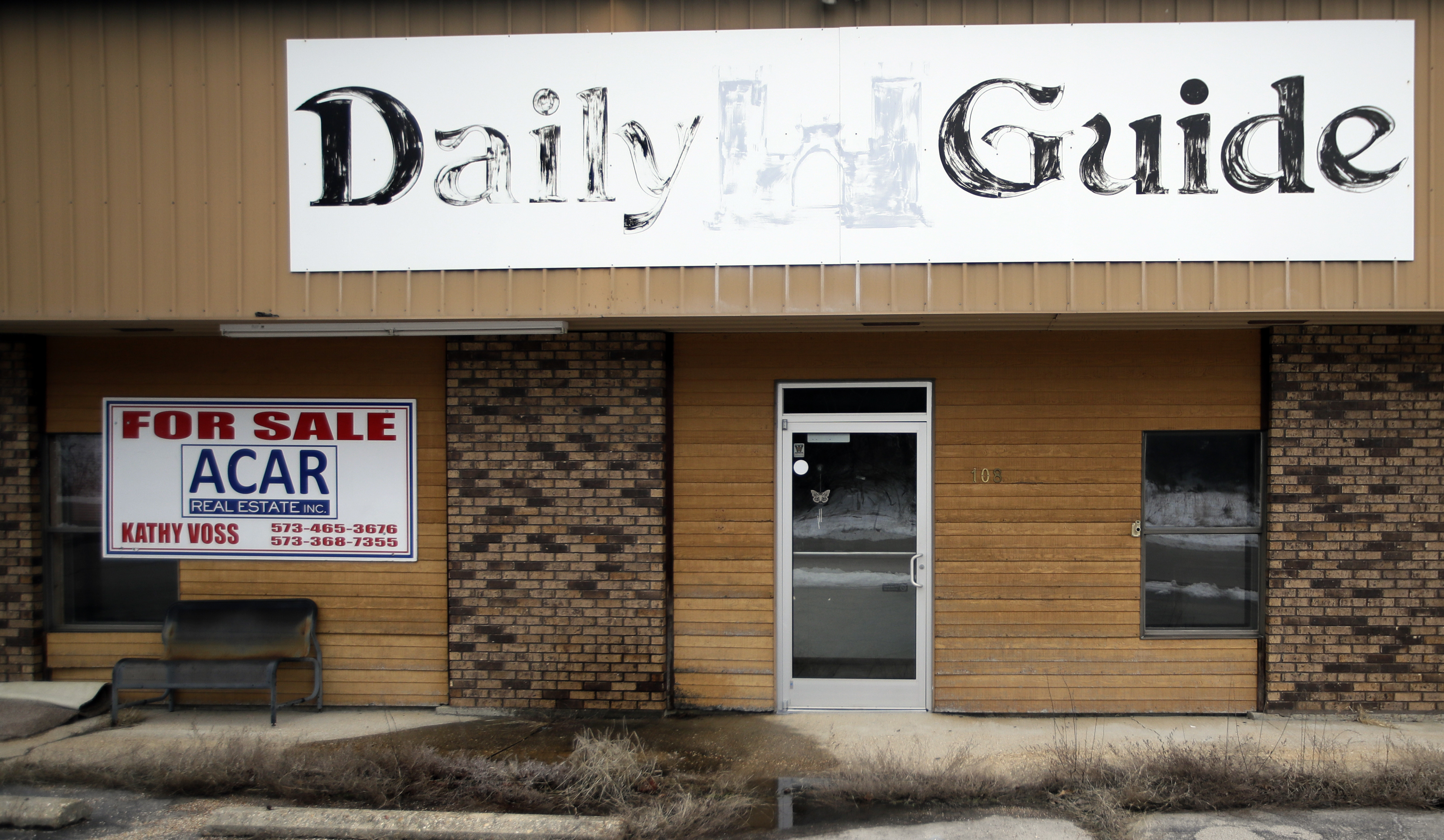 Daily Guide newspaper building for sale