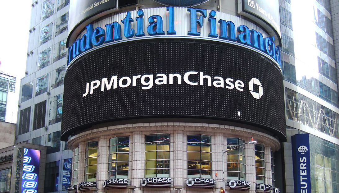 Photo of JPMorgan Chase in New York City.