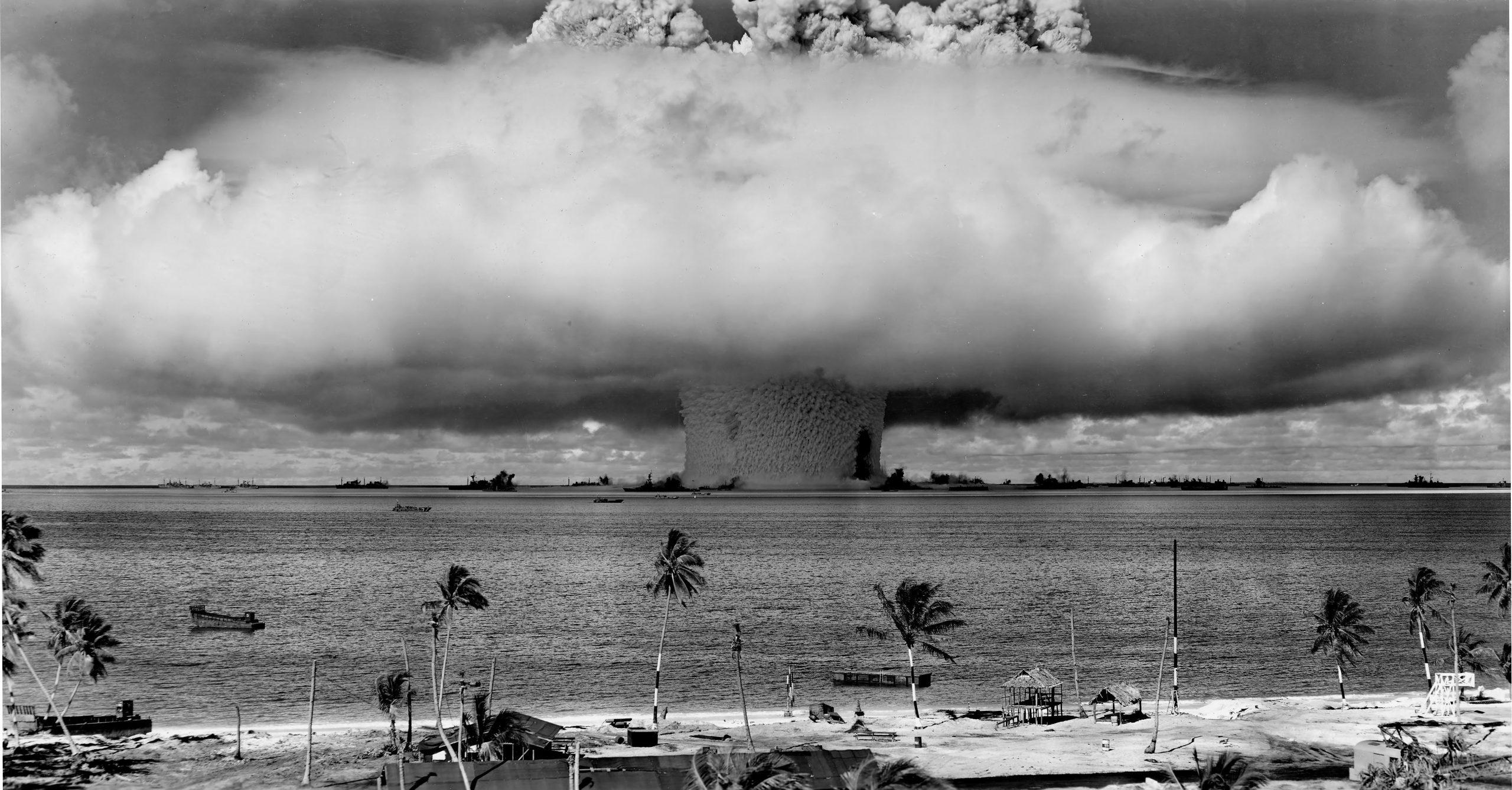 first underwater detonation