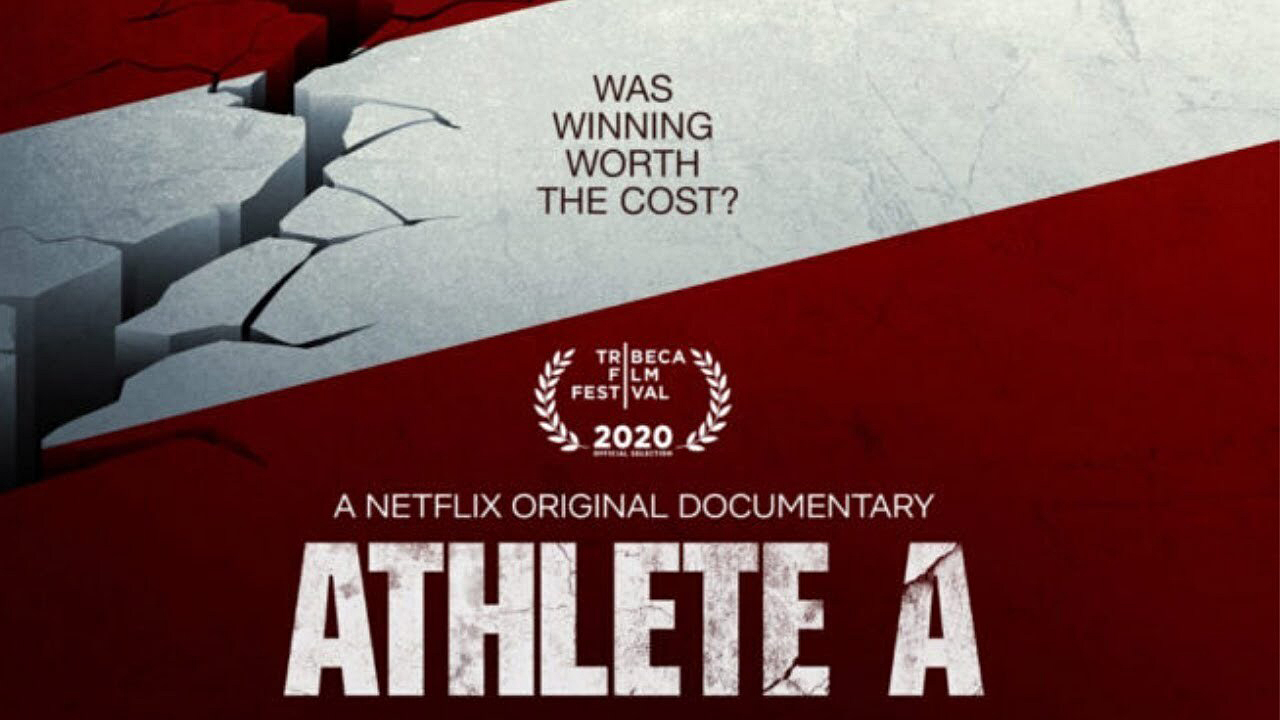 cover of Athlete A documentary